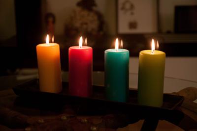 Les 4 bougies des noces de bougie